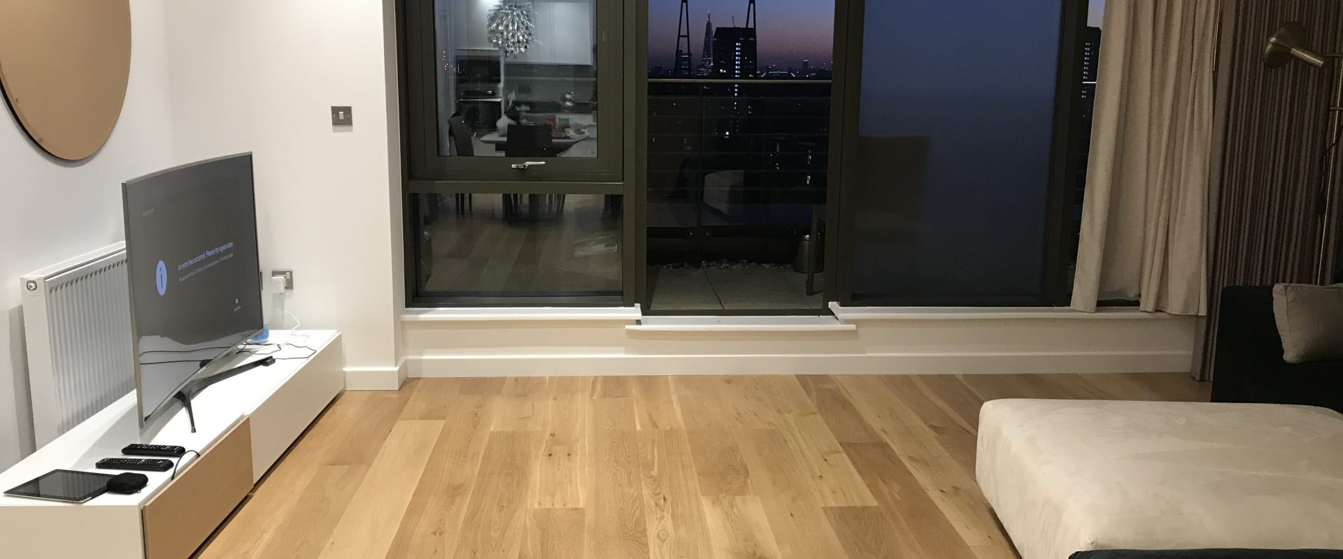 3 Bed Flat With Beatiful View In Canary Warf